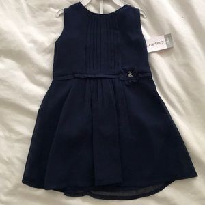 Carter's Navy Blue 24m Girls Dress